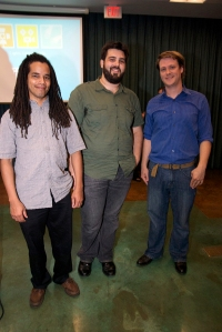 Rich Vasquez, Aaron Bramley, and David Neff