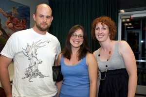 Kim Righter, Ehren Foss, and Laura Maher