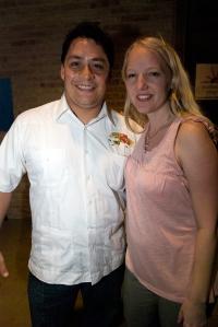Mando Rayo and Layla Fry